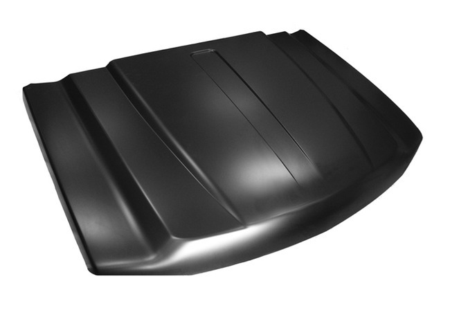 Hood, Cowl Induction Style, 2 inch Cowl, Chevrolet ...