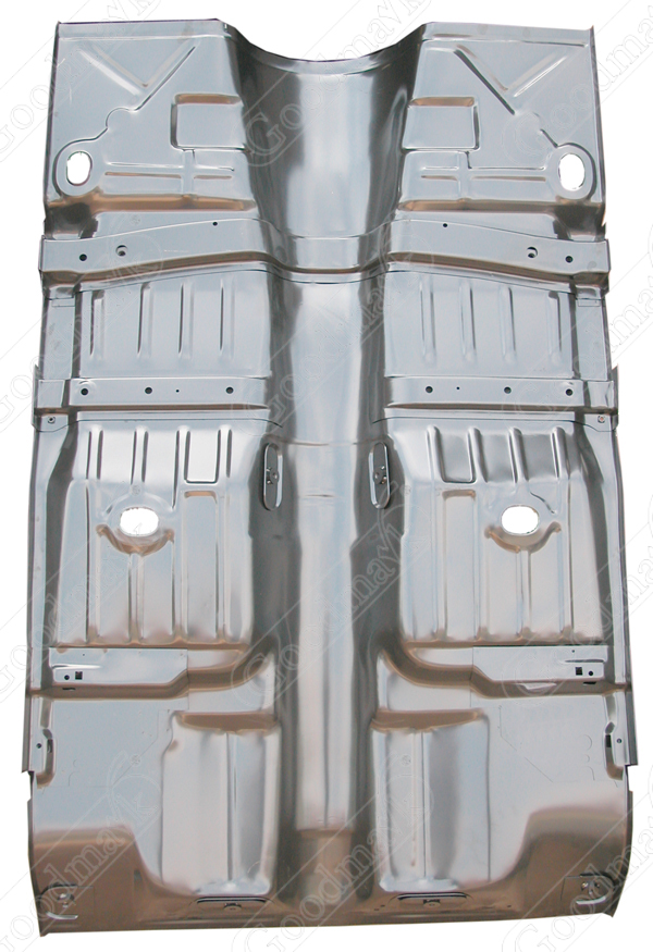 floor pan assembly full 1968 1969 1970 1971 1972 1973