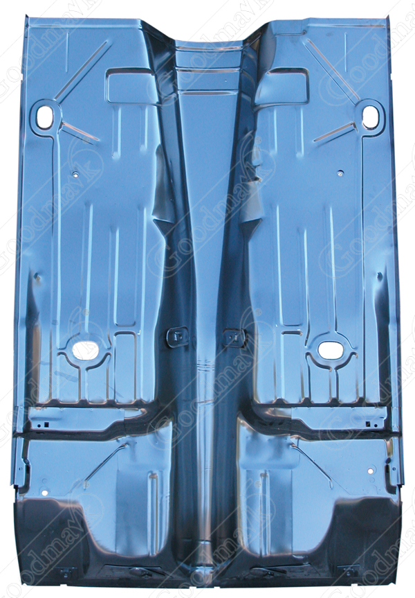Floor pan assembly full 1967 1968 1969 chevrolet camaro for 1967 camaro floor pan replacement