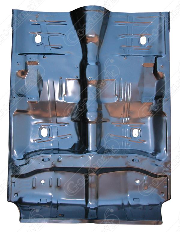 Floor pan assembly full 1964 1965 1966 1967 chevrolet for 1966 chevy truck floor pans