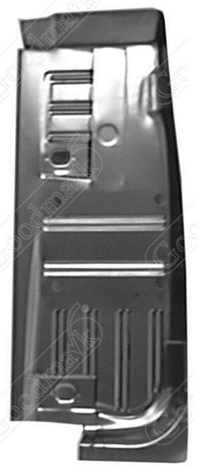 Floor pan half left 1964 1965 1966 1967 1968 1969 1970 for 1967 mustang floor pan