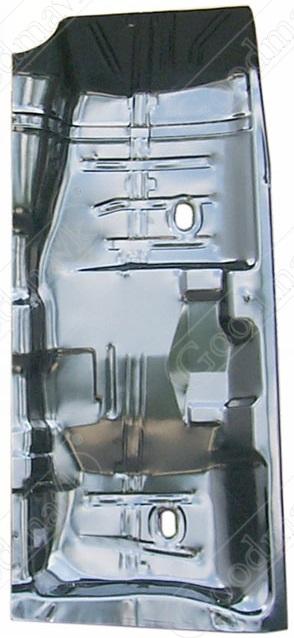 Floor pan half right 1964 1965 1966 1967 chevrolet for 1966 chevy truck floor pans