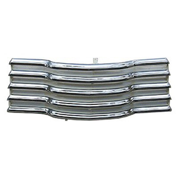 1948 Grille Assembly, Chrome/White, CHEVROLET Suburban/Panel