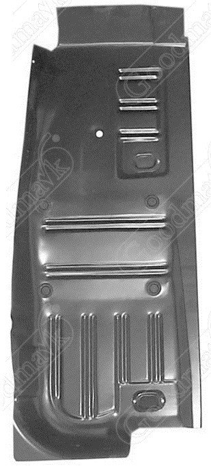 Floor pan half right 1964 1965 1966 1967 1968 1969 1970 for 1967 mustang floor pan