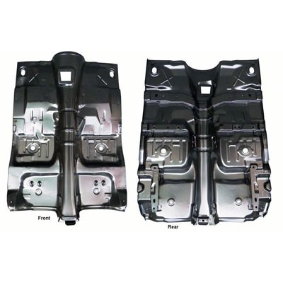 floor pan assembly full 1975 1976 1977 1978 1979 1980