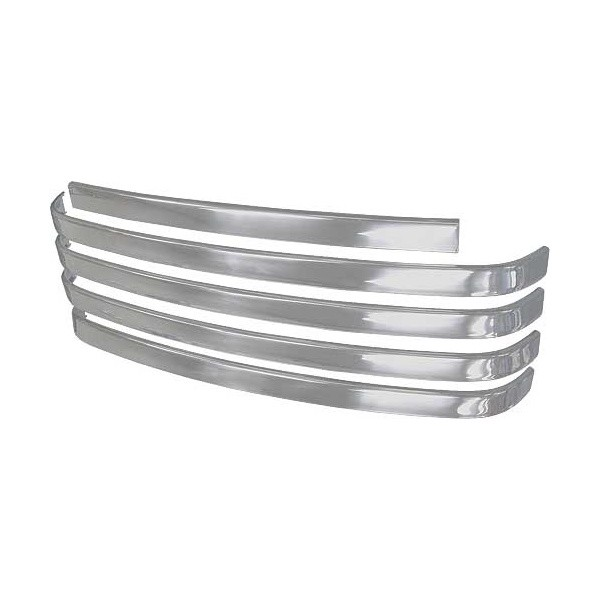 1949 Grille Bar Set, Stainless Steel, FORD Pickup Truck, F1/F2