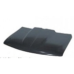 2000 Hood, Cowl Induction, Split Dual Style, 2 inch Cowl, CHEVROLET Suburban/Panel