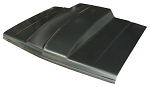 1982 Hood, Cowl Induction, 4 inch Cowl, CHEVROLET S-10 Pickup