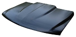Hood, Cowl Induction Style, 2 inch Cowl, AMD, 1999 2000 2001 2002 2003 2004 2005 2006 Chevrolet Pickup Truck