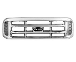 2004 Grille, Chrome, FORD Pickup Super Duty