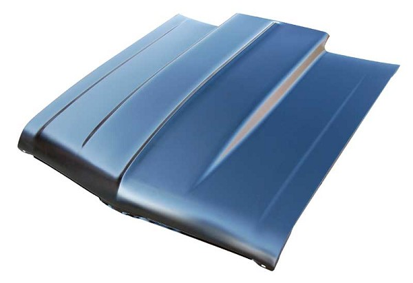 Hood, Cowl Induction Style, 2 inch Cowl, 1973 1974 Chevrolet Nova