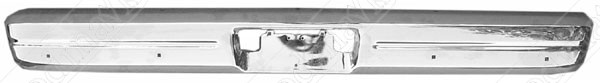Front Bumper, Chrome, 1986 1987 1988 1989 1990 1991 1992 1993 Dodge Ram