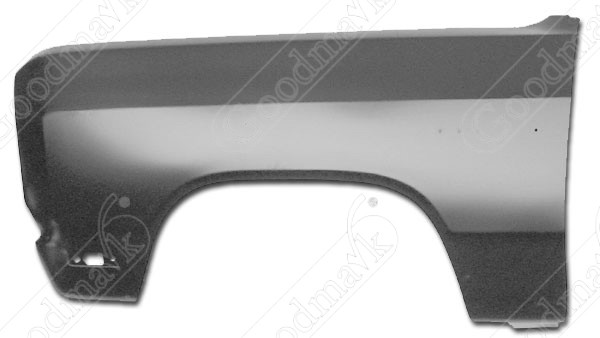 Front Fender, Left, 1981-1993 Dodge Ram