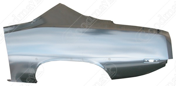 Quarter Panel, Rear, Left, 1972 1973 1974 Plymouth Barracuda