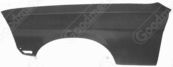 Front Fender, Left, 1968 Ford Mustang