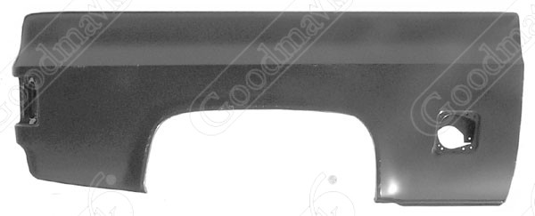 Bedside, Fleetside, Short Bed. Square Fuel Hole. Right, 1979 1980 1981 1982 1983 1984 1985 1986 1987 Chevrolet GMC Pickup Truck