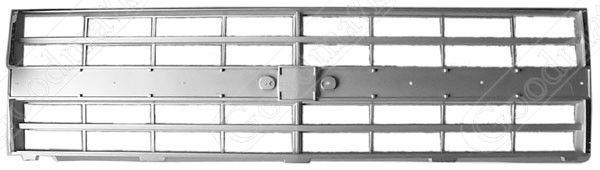 Grille Insert, Quad Headlights, 1985 1986 1987 1988 Chevrolet Pickup Truck