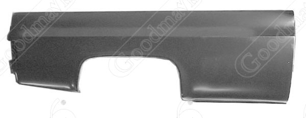 Bedside, Fleetside, Right, 1981 1982 1983 1984 1985 1986 1987 1988 1989 1990 1991 Chevrolet GMC Pickup Truck