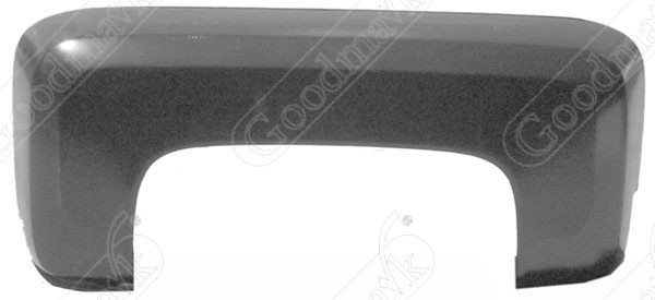 Rear Fender, Stepside, Right, 1981 1982 1983 1984 1985 1986 1987 Chevrolet GMC Pickup Truck