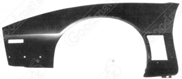 Front Fender, Trans Am, Left, 1985 1986 1987 1988 1989 1990 Pontiac Firebird, Trans Am