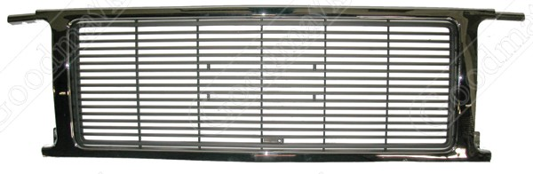 Grille Insert, 1989 1990 1991 GMC Pickup Truck