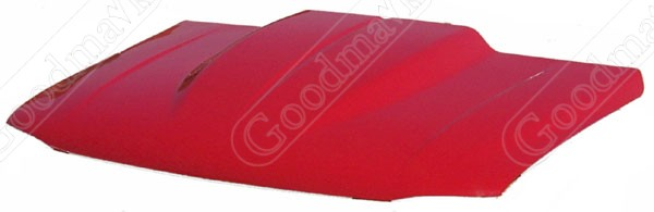 Hood, Cowl Induction Style, 2 inch Cowl, 1999 2000 2001 2002 2003 2004 2005 2006 GMC Pickup Truck