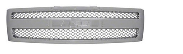 Grille, Chrome, 2007 2008 2009 2010 2011 2012 2013 Chevrolet Pickup Truck