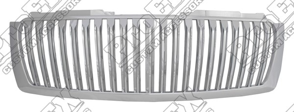Grille, Chrome, 2007 2008 2009 2010 2011 2012 2013 Chevrolet Tahoe