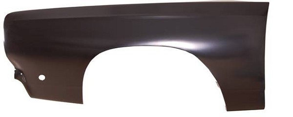 Front Fender, Left, 1968 Plymouth Belvedere, Satellite, Roadrunner, GTX