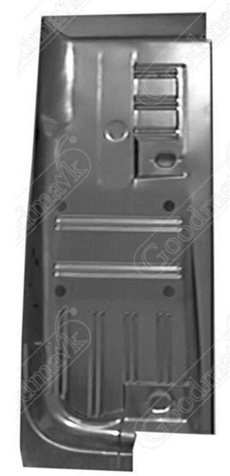 Floor Pan, Half, Right, 1964 1965 1966 1967 1968 1969 1970 Ford Mustang, Mercury Cougar