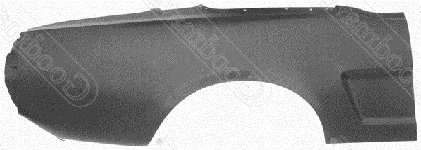 Quarter Panel, Rear, Right, 1964 1965 1966 Ford Mustang
