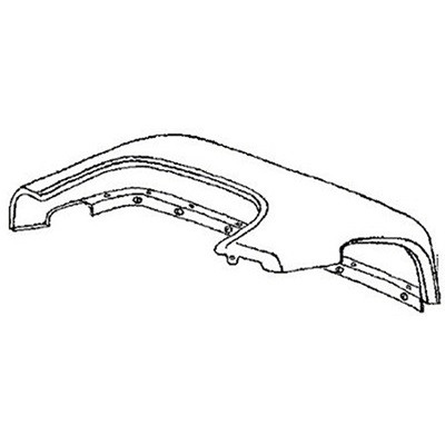 Front Fender, Right, 1953 1954 1955 1956 Ford Truck