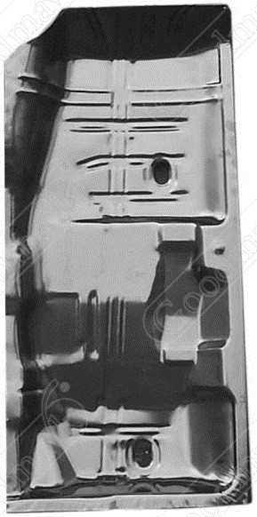 Floor Pan, Half, Right, 1968 1969 1970 1971 1972 Chevrolet, Buick, Oldsmobile, Pontiac