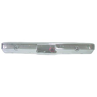 Front Bumper, Chrome, 1973 1974 1975 1976 1977 1978 1979 1980 Chevrolet GMC Pickup Truck