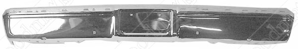 Front Bumper, Paintable, 1983 1984 1985 1986 1987 1988 1989 1990 1991 Chevrolet GMC Pickup Truck
