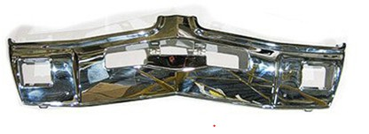 Front Bumper, Chrome, 1969 Oldsmobile Cutlass