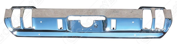 Rear Bumper, Chrome, 1970 Oldsmobile Cutlass