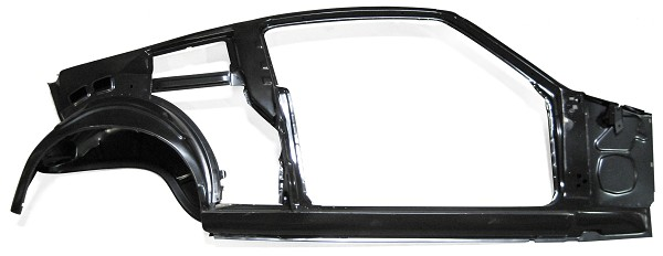 Quarter/Door Frame Assembly, Right, 1967 1968 Ford Mustang